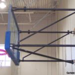 Wall Mounted Basketball Structure