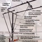 Y-Frame Ceiling Mount Structures